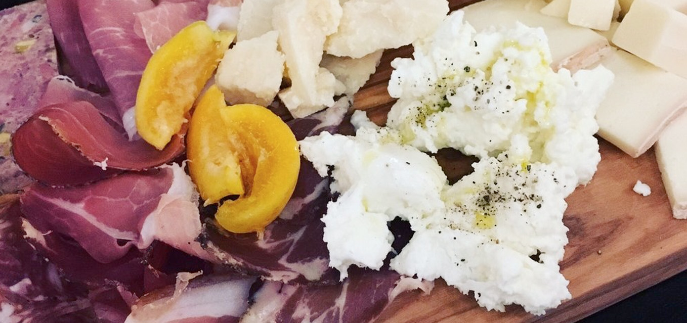Bar Pazzo's new Sunday offerings focuson cured meats, cheeses, fresh fruit