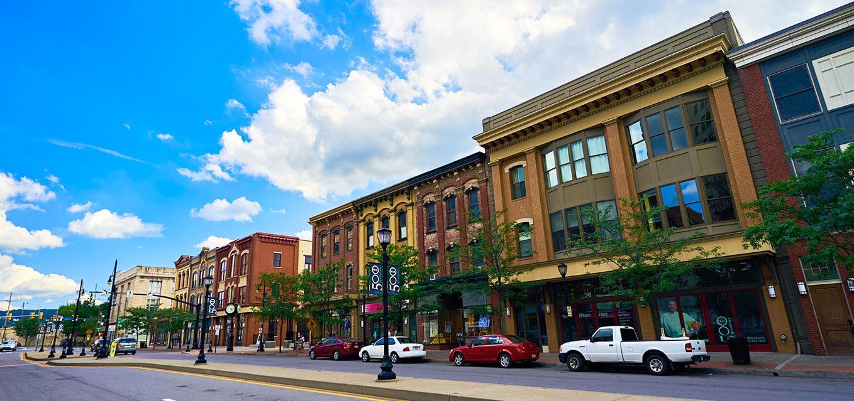 Scranton's downtown boasts elements for success