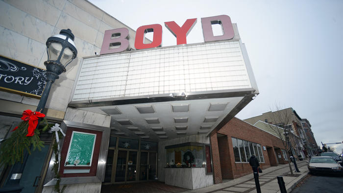 The history of the Boyd Theatre in Bethlehem