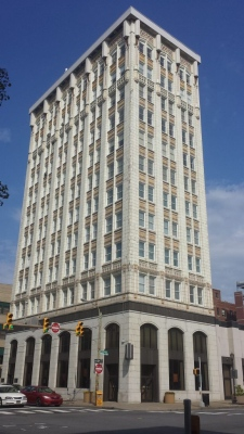 Wilkes-Barre developer scoops up historic SNB Plaza building on Lackawanna Ave