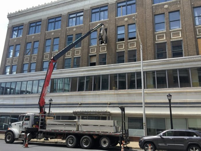 Samter's building project near completion