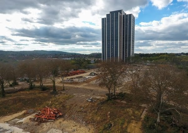 Martin Tower is going to be imploded and it's going to happen soon, mayor says