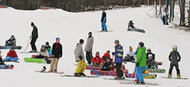 Cardboard Box Derby Takes over Montage Mountain Ski Resort