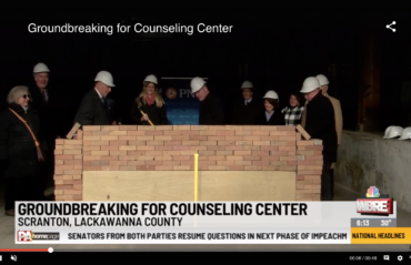 Ground broken on new counseling center