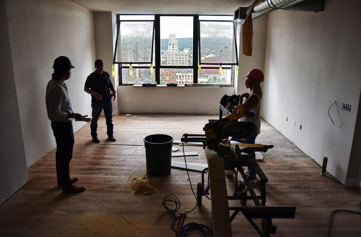 Apartments on the way  Retrofit of former Lackawanna County administration building progressing